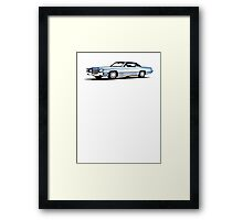 1969 Cadillac Coupe Framed Print