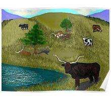 Longhorns Poster