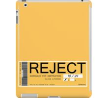CHAPPIE - Reject Sticker  iPad Case/Skin