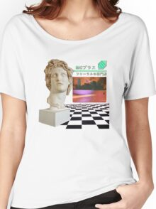 Macintosh Plus - Floral Shoppe Women's Relaxed Fit T-Shirt
