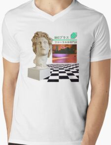 Macintosh Plus - Floral Shoppe Mens V-Neck T-Shirt