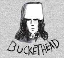 Buckethead frozen brains tell no  tales by Evilneck