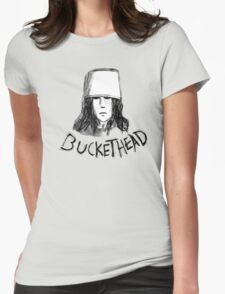 Buckethead frozen brains tell no  tales Womens Fitted T-Shirt