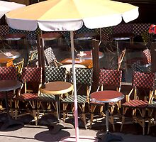 Tables and Chairs - Paris by Lynne Robertson