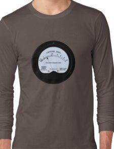 Caffeine Gauge Long Sleeve T-Shirt