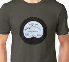 Caffeine Gauge Unisex T-Shirt