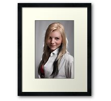 Elfin Child Framed Print