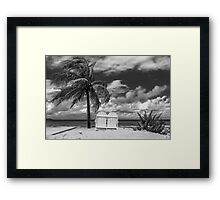 Paradise for two Framed Print