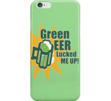 Green Beer Luck iPhone Case/Skin