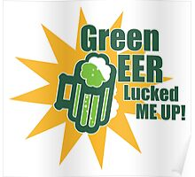 Green Beer Luck Poster