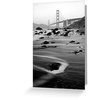 San Francisco, USA. Greeting Card