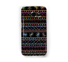 Happy sticks pattern Samsung Galaxy Case/Skin