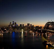 Sydney Skyline by Lucas Boyd