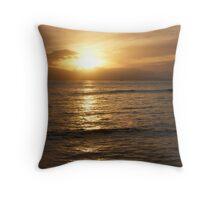Hawaiin Sunset Throw Pillow