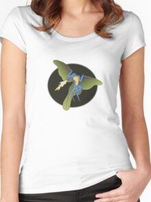 Archaeopteryx (the fire breathing kind) Women's Fitted Scoop T-Shirt