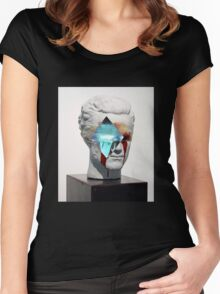 BLEEDING VAPOR Women's Fitted Scoop T-Shirt