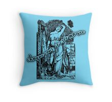 I Create My Life Every Day (in French) Throw Pillow
