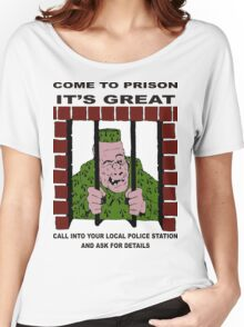 Come to Jail Women's Relaxed Fit T-Shirt