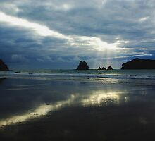 Whangamata by Steven Weeks