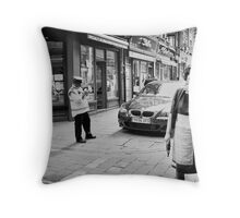 the toothpick Throw Pillow