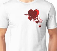 squiggle hearts Unisex T-Shirt