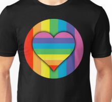 rainbow love Unisex T-Shirt