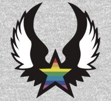 winged rainbow starz (small) by chromatosis