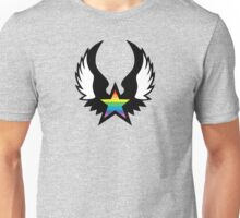 winged rainbow starz (small) Unisex T-Shirt