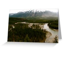 Old Fort Point, Jasper National Park Greeting Card