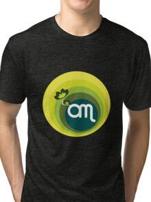 Om v 1.0 : Mint Tri-blend T-Shirt