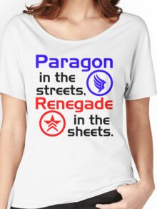 Paragon vs. Renegade Women's Relaxed Fit T-Shirt