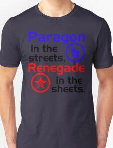 Paragon vs. Renegade Unisex T-Shirt