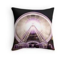 Perth Wheel Throw Pillow