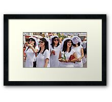 Five Prescilla's Framed Print