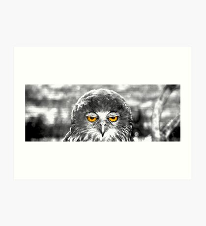 What You Looking At Art Print