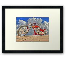 The Nature of Steel Framed Print