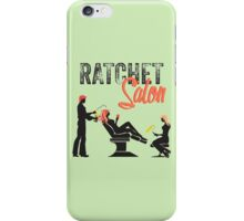 Ratchet Salon - Black Version iPhone Case/Skin