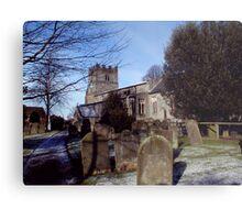 Easingwold Parish Church Metal Print