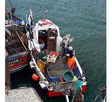 A Days Fishing Photographic Print