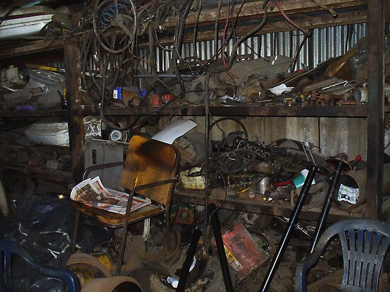 Genuine Spare Parts by Guy Tschiderer