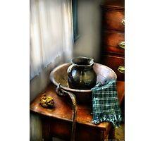 A Wash Basin Photographic Print