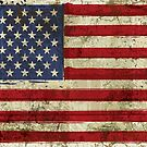 America Grunge Flag by CroDesign
