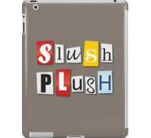 SlushPlush Logo iPad Case/Skin
