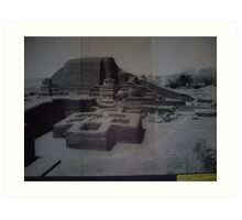 This is ancient India... Art Print