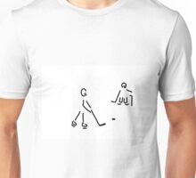 hockey player Unisex T-Shirt
