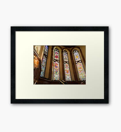 Interior, The Guildhall, Derry Framed Print