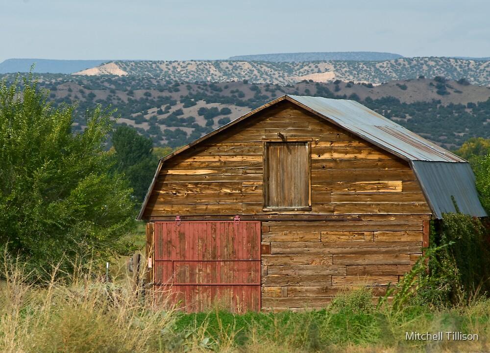 Pena Blanca Barn by Mitchell Tillison
