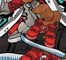 yeezy dog by wup66