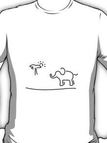elephant Africa savanna T-Shirt