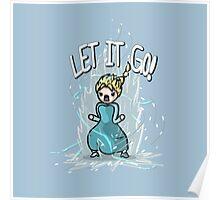 Super Saiyan Elsa Poster